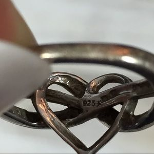 Jewelry - Sterling silver heart ring women's Size 5